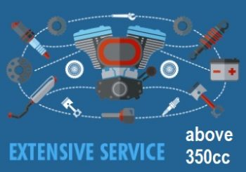 atv extensive service 350+