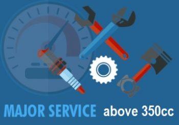 atv major service 350+