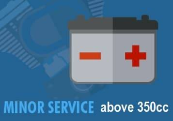 atv minor service 350+