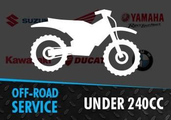 Off-Road Bike under 240cc