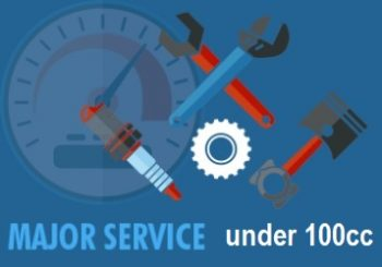 atv major service 100-
